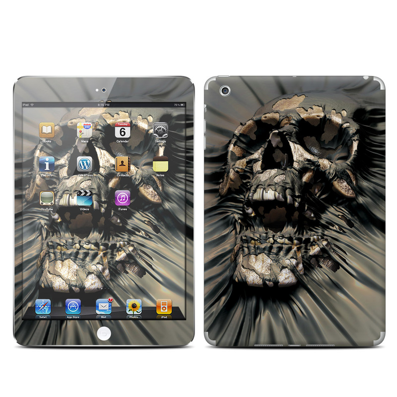 Skull Wrap iPad mini 1 Skin