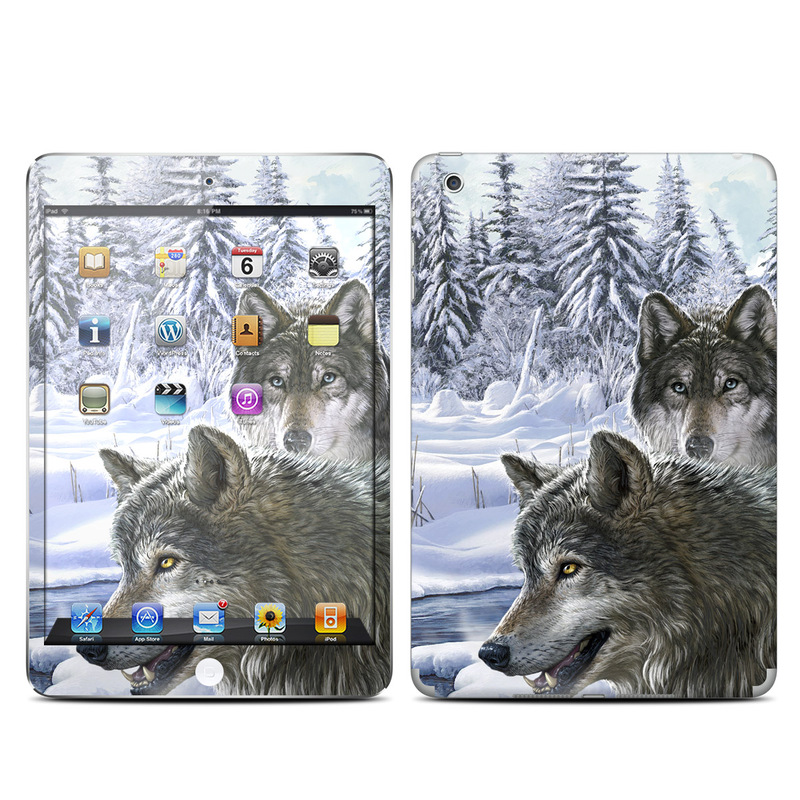 Snow Wolves iPad mini Skin