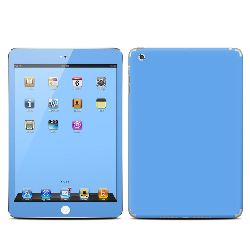 Solid State Blue iPad mini 1 Skin