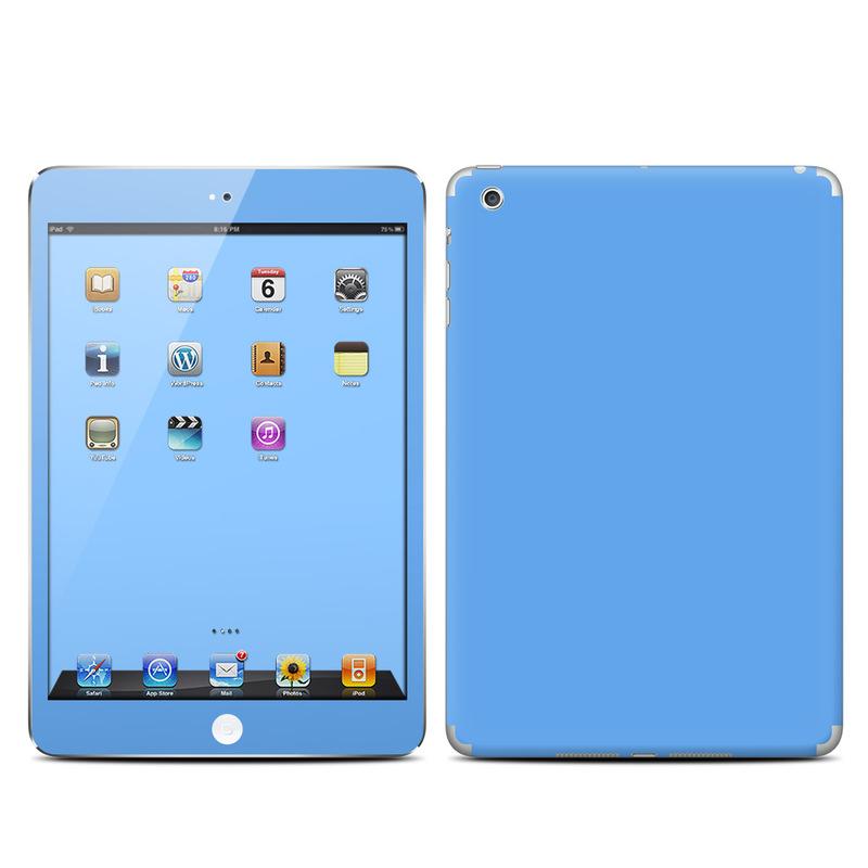 Solid State Blue iPad mini Skin