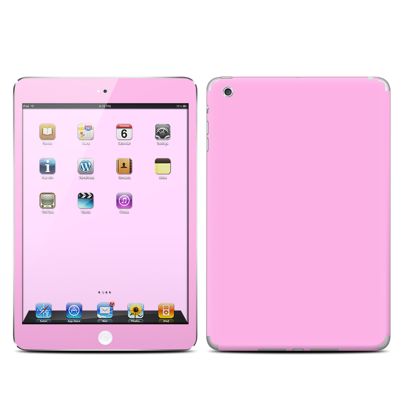 Solid State Pink iPad mini Skin