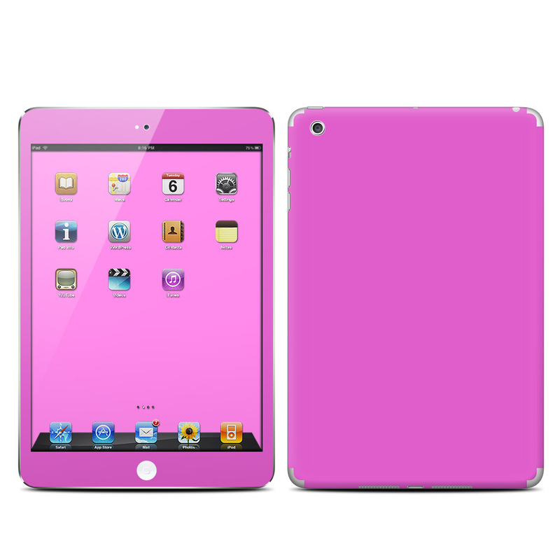 iPad mini 1 Skin design of Violet, Pink, Purple, Red, Lilac, Magenta, Blue, Lavender, Text, Sky with pink colors