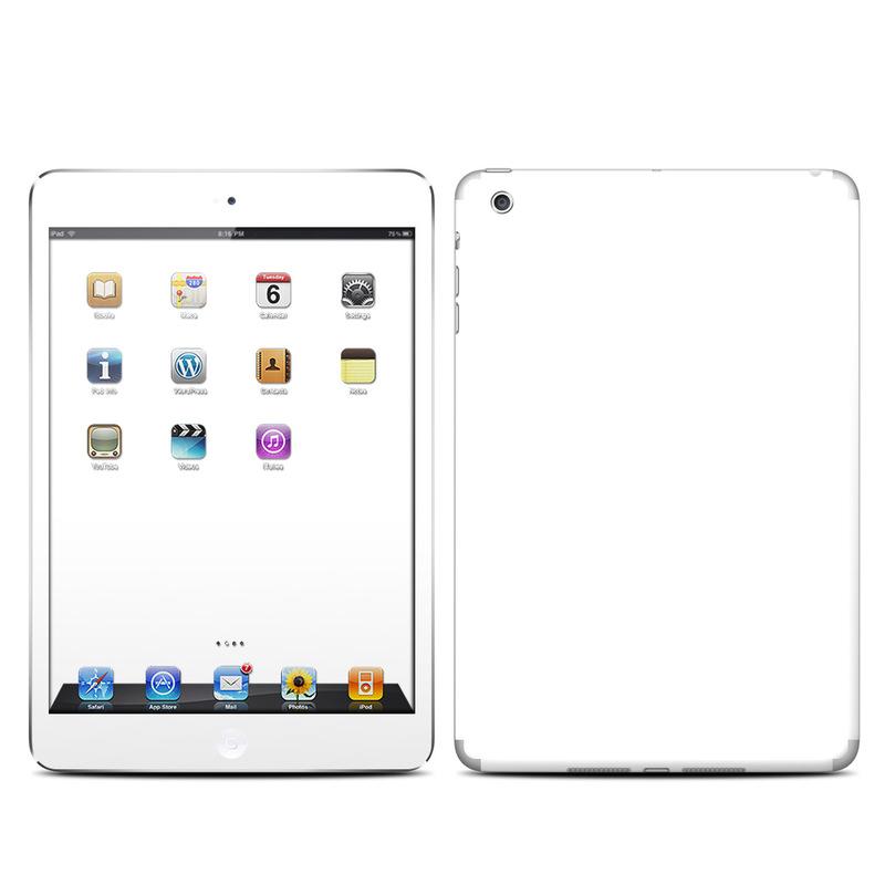 iPad mini 1 Skin design of White, Black, Line with white colors