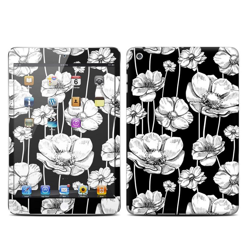 Striped Blooms iPad mini Skin