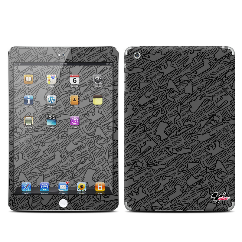 Tracked iPad mini Skin