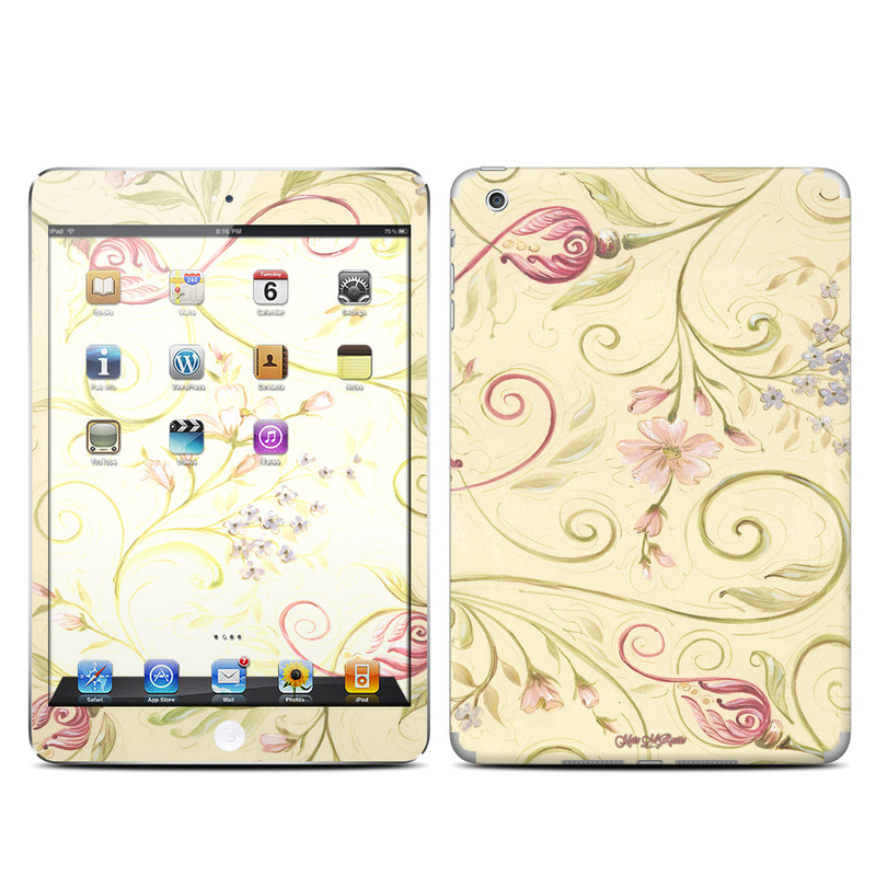 Tulip Scroll iPad mini Skin