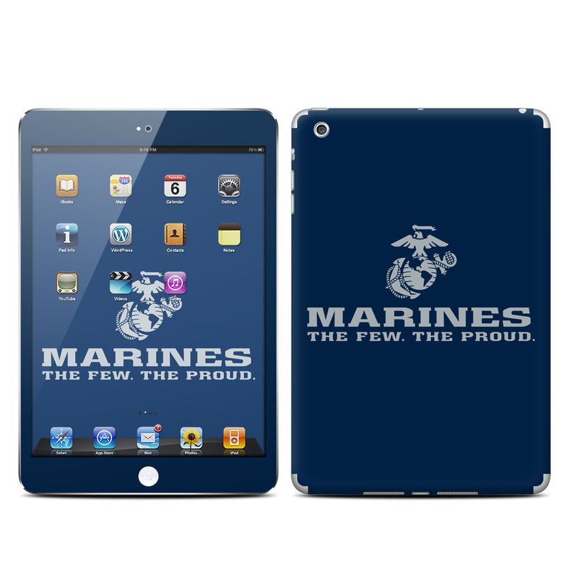 USMC Blue iPad mini Skin