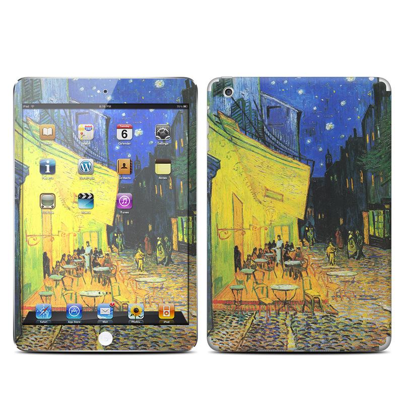 Cafe Terrace At Night iPad mini Skin