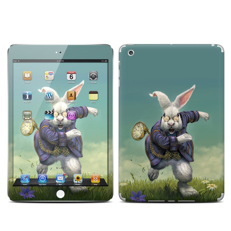 White Rabbit iPad mini Skin