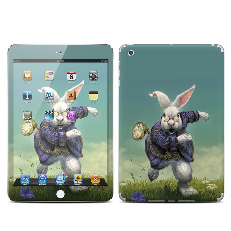 White Rabbit iPad mini Skin