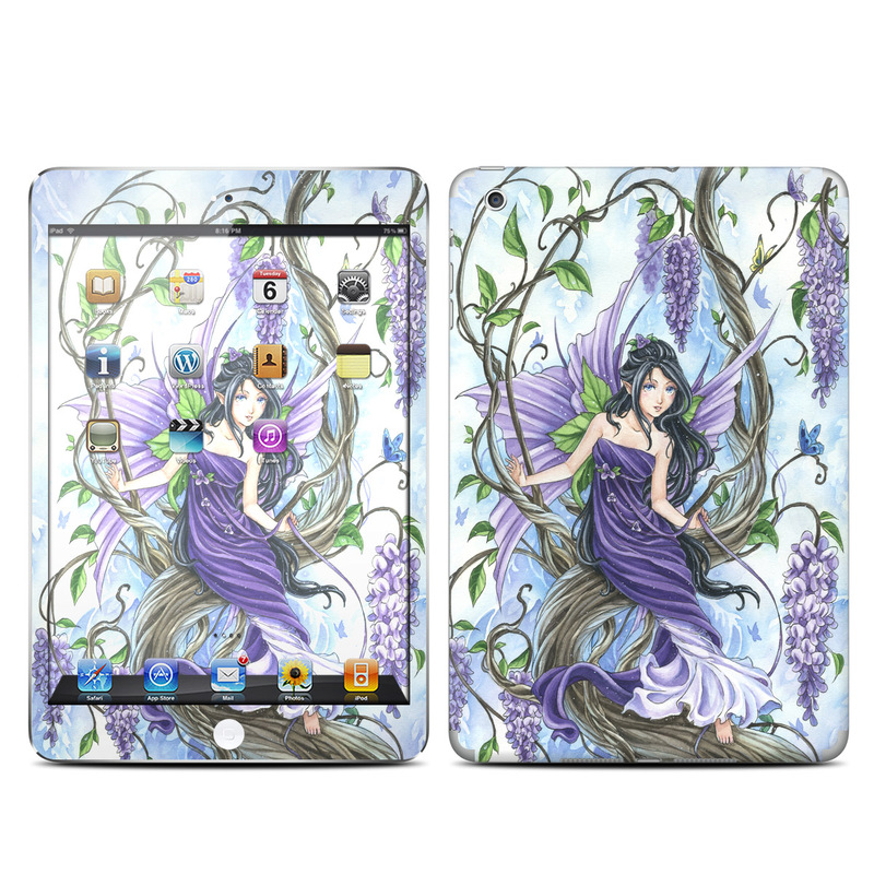 Wisteria iPad mini Skin