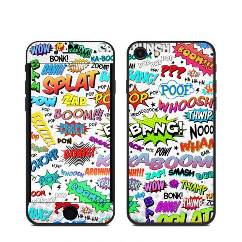 Comics iPhone SE Skin