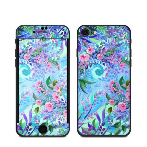 Lavender Flowers iPhone SE Skin