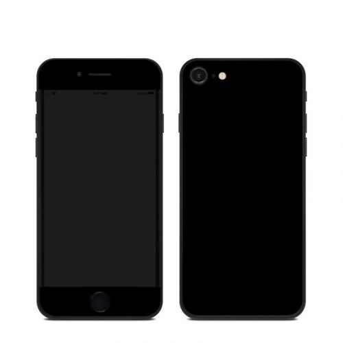 Solid State Black iPhone SE Skin