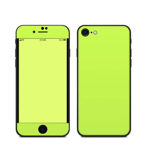 Solid State Lime iPhone SE Skin