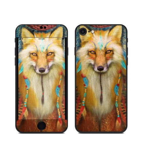 Wise Fox iPhone SE Skin