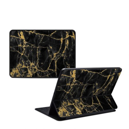Black Gold Marble iPad Pro 11-inch 1st Gen Smart Keyboard Folio Skin