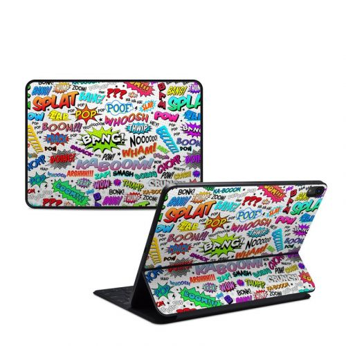 Comics iPad Pro 11-inch 1st Gen Smart Keyboard Folio Skin