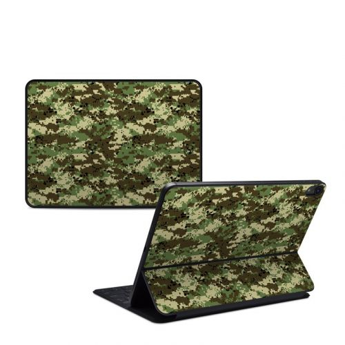 Digital Woodland Camo iPad Pro 11-inch Smart Keyboard Folio Skin