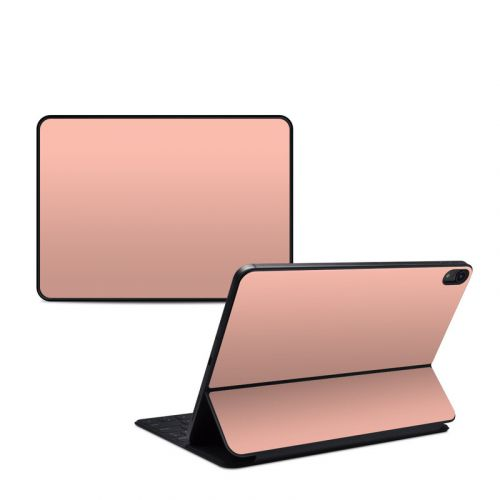 Solid State Peach iPad Pro 11-inch Smart Keyboard Folio Skin