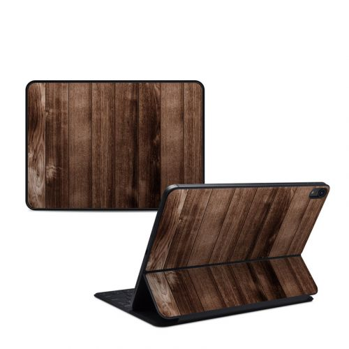 Stained Wood iPad Pro 11-inch Smart Keyboard Folio Skin