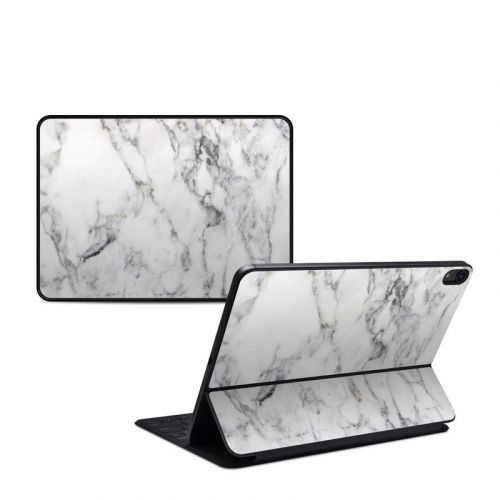 White Marble iPad Pro 11-inch Smart Keyboard Folio Skin