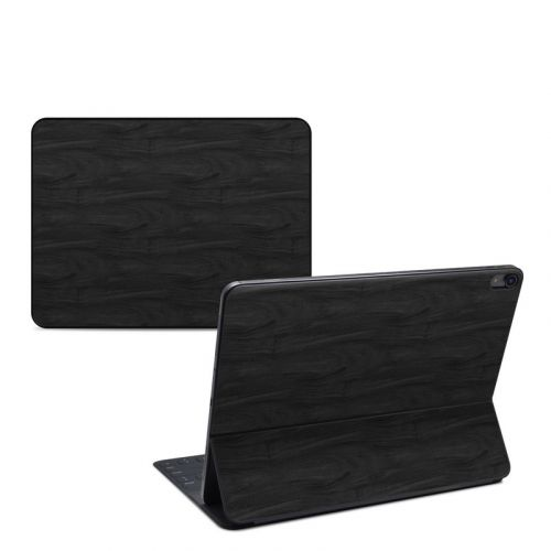 Black Woodgrain iPad Pro 12.9-inch 3rd Gen Smart Keyboard Folio Skin