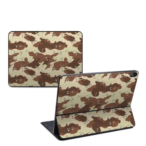 Desert Camo iPad Pro 12.9-inch Smart Keyboard Folio Skin