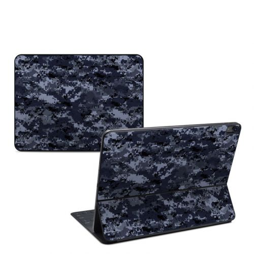 Digital Navy Camo iPad Pro 12.9-inch Smart Keyboard Folio Skin