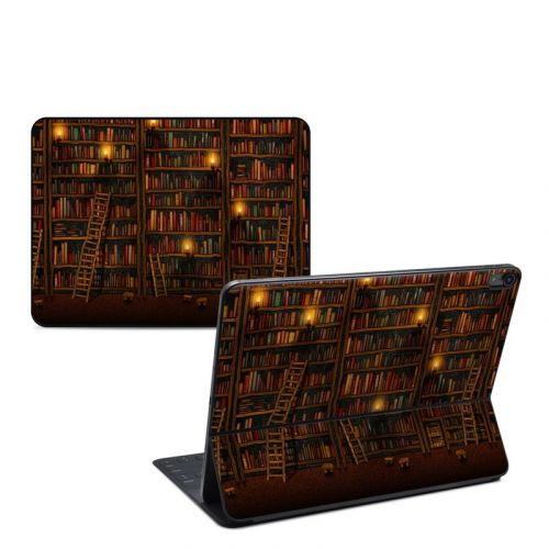 Library iPad Pro 12.9-inch Smart Keyboard Folio Skin