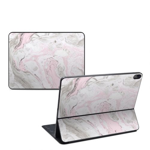 Rosa Marble iPad Pro 12.9-inch Smart Keyboard Folio Skin