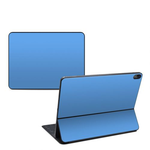 Solid State Blue iPad Pro 12.9-inch Smart Keyboard Folio Skin