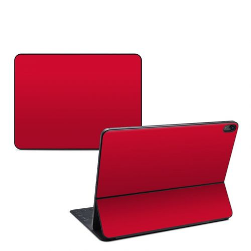Solid State Red iPad Pro 12.9-inch Smart Keyboard Folio Skin