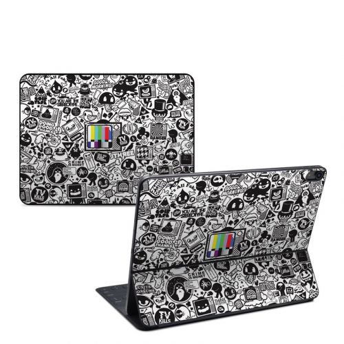 TV Kills Everything iPad Pro 12.9-inch Smart Keyboard Folio Skin