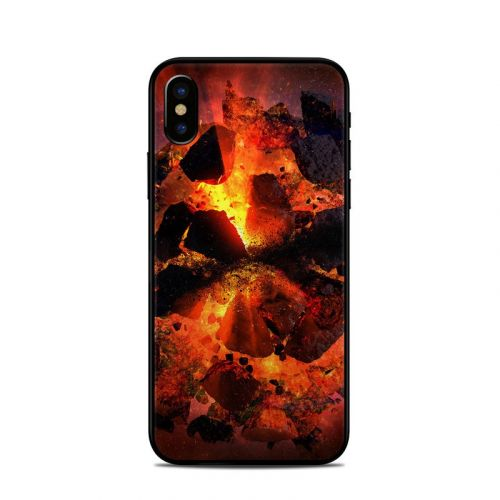Aftermath iPhone X Skin