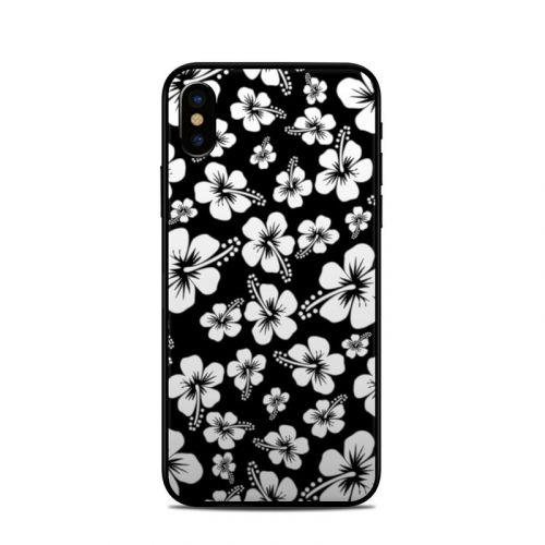 Aloha Black iPhone X Skin