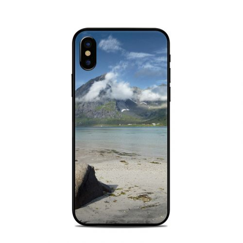 Arctic Beach iPhone X Skin
