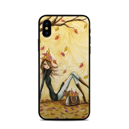 Autumn Leaves iPhone X Skin