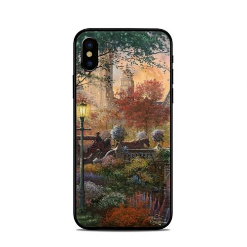 Autumn in New York iPhone X Skin