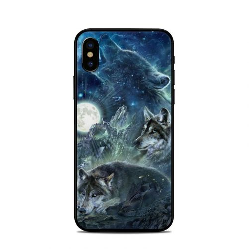 Bark At The Moon iPhone X Skin