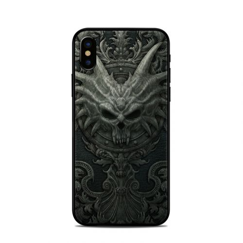Black Book iPhone X Skin