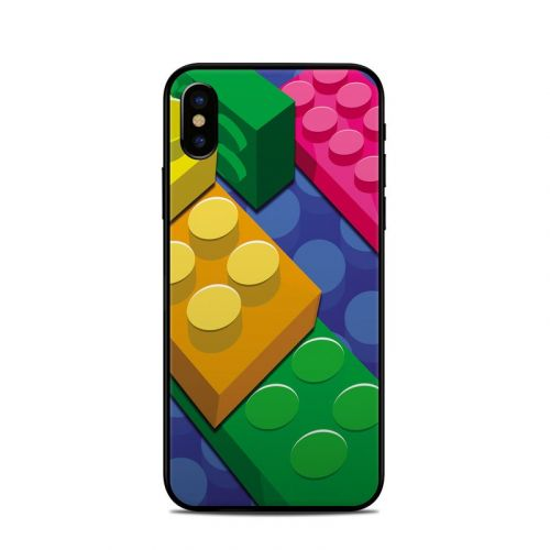 Bricks iPhone X Skin
