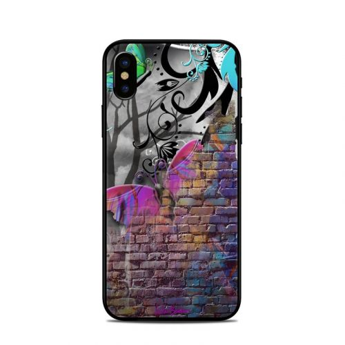Butterfly Wall iPhone X Skin