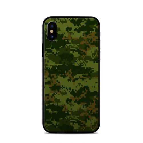 CAD Camo iPhone X Skin