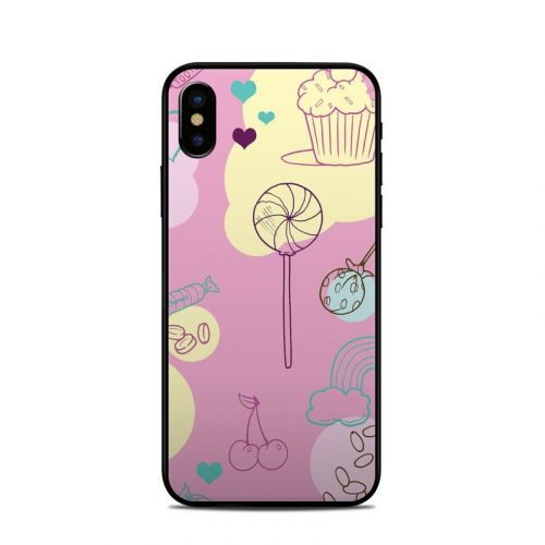 Pink Candy iPhone X Skin