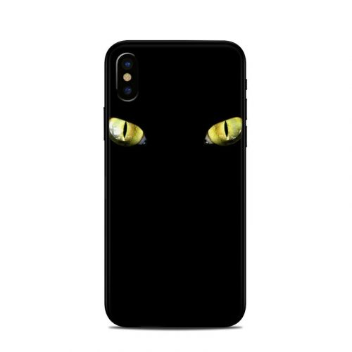 Cat Eyes iPhone X Skin