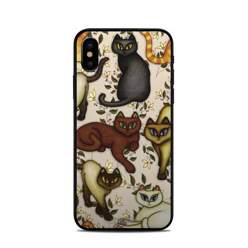 Cats iPhone X Skin