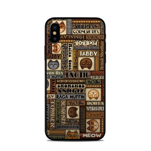 Cat Breeds iPhone X Skin