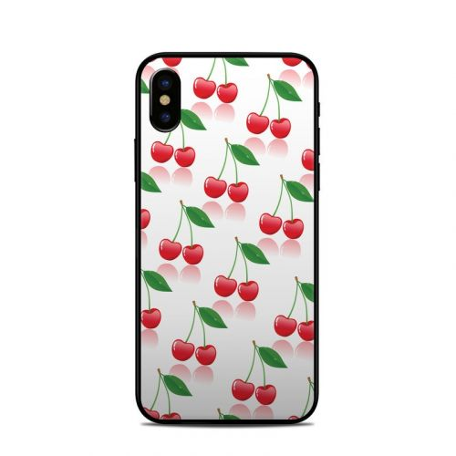Cherry iPhone X Skin