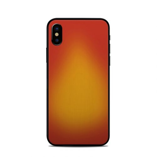 Cherry Sunburst iPhone X Skin
